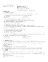 Ngân hàng đề kt văn 9