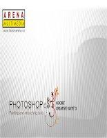 Adobe Photoshop CS3 - Thực hành bài tập ngày 3 doc
