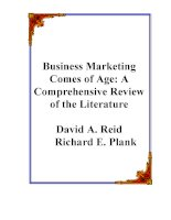 Fundamentals of Business Marketing Research Chapter 2 pdf