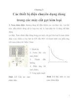 tính toán thiết kế hệ thống truyền động điện trong máy cắt gọt kim loại, chương 2 doc