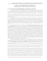 CHƯƠNG 1: ĐIỀU KHIỂN PHI TUYẾN BẰNG PHƯƠNG PHÁP TUYẾN TÍNH HOÁ CHÍNH XÁC ppsx