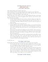 hướng dẫn ôn thi TNTHPT môn Ngữ Văn