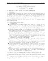 CHƯƠNG III: CÁC PHƯƠNG PHÁP TỔ CHỨC THI CÔNG XÂY DỰNG ppt