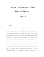 Chapter 030. Disorders of Smell, Taste, and Hearing (Part 4) pdf