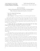 Bài thu hoạch tư tưởng Hồ Chí Minh về công tác xây dựng Đảng