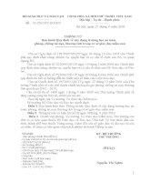 Thông tư 13/2010 : XÂY DỰNG TRƯỜNG HỌC AN TOÀN, CHỐNG TAI NẠN....