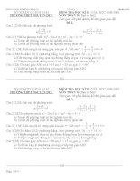 đề thi hk2 toán 10-có đáp án