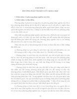 PHƯƠNG PHÁP LUẬN NGHIÊN CỨU KHOA HỌC PHẦN 5 doc