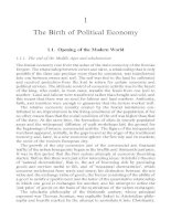 An Outline of the history of economic thought - Chapter 1 pdf