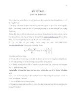 Bài tập nhóm quản trị dự án pdf