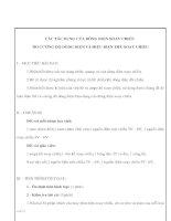 Giáo án Vật lý lớp 9 - CÁC TÁC DỤNG CỦA DÒNG ĐIỆN XOAY CHIỀU ĐO CƯỜNG ĐỘ DÒNG ĐIỆN VÀ HIỆU ĐIỆN THẾ XOAY CHIỀU pot