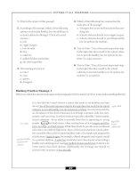 Reading comprehension success part 7 doc