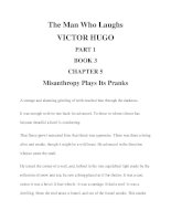 The Man Who Laughs VICTOR HUGO PART 1 BOOK 3 CHAPTER 5 pps
