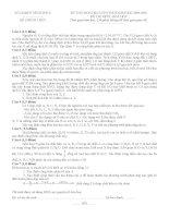 Đề-đáp án HSG Vĩnh Phúc -2010-Hóa học