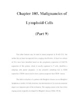 Chapter 105. Malignancies of Lymphoid Cells (Part 9) Two other features may be used to assess pptx
