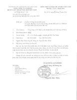 công bố báo cáo tài chính hợp nhất 2013 sau kiểm toán tổng công ty cổ phần dịch vụ kỹ thuật dầu khí việt nam