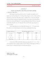 CHƯƠNG 7: NÂNG CAO HỆ SỐ VÀ BÙ CÔNG SUẤT PHẢN KHÁNG pps