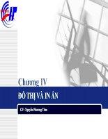Giáo trình kế toán ứng dụng: - Chương 4: Đồ thị và in ấn pot