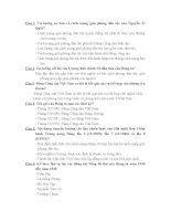 Đề thi tham khảo môn Tư tưởng Hồ Chí Minh - Phần 5 pptx