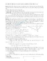 tuyển tập những bài tập vật lý lớp 10 hay và khó