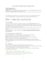 VIẾT CHƯƠNG TRÌNH TÍNH GIÁ TRỊ BIỂU THỨC pdf
