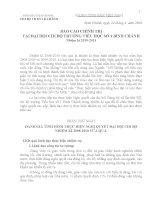 B.CAO CH.TRỊ ĐẠI HOI CHI BỘ NH.KI 10-13