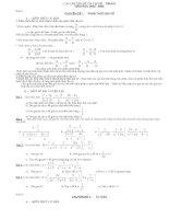 các đề thi nổi tiếng toán 8