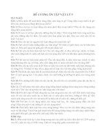 ĐỀ CƯƠNG ÔN TẬP VẬT LÍ 9 HỌC KÌ II