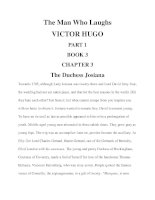 The Man Who Laughs VICTOR HUGO PART 1 BOOK 3 CHAPTER 3 pdf