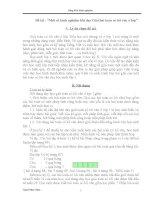 SKKN: PP dạy giải toán có lời văn ở lớp 1