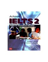 Achieve IELTS Reduced Book Part 1 pdf