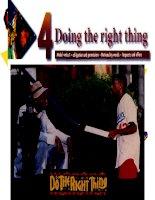Giáo trình New Head Way - Doing the right thing ppt