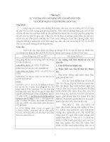 Bài giảng môn Tư tưởng - TƯ TƯƠNG HỒ CHÍ MINH VỀ VÂN ĐỀ DÂN TỘC VÀ CÁCH MẠNG GIẢI PHÓNG DÂN TÔC ppsx
