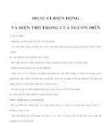ĐO SUẤT ĐIỆN ĐỘNG VÀ ĐIỆN TRỞ TRONG CỦA NGUỒN ĐIÊN ppt