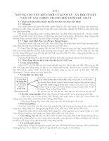 Tài liệu ôn thi đại học phần Lịch Sử Việt Nam