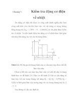 Thiết kế cầu trục 1 tấn phục vụ cho việc di chuyển tôn tấm, chương 7 ppt