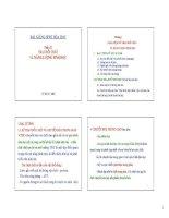 Chương I: Khái niệm về trao đổi chất và năng lượng sinh học ppsx