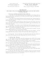 Công văn 1095 KẾ HOẠCH THỰC HIỆN CÔNG TÁC KIỂM ĐỊNH CHẤT LUỢNG GIÁO DỤC PHỔ THÔNG NĂM HỌC 2009-2010