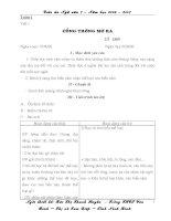 giáo án ngữ văn lớp 7 cả năm