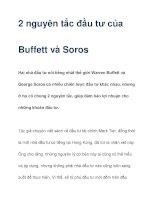 2 nguyên tắc đầu tư của Buffett và Soros pot