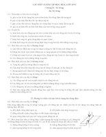 ĐỀ CUONG ÔN THI VẬT LÝ 11NC- HK 2(09-10)