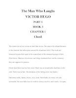 The Man Who Laughs VICTOR HUGO PART 1 BOOK 3 CHAPTER 1 pdf
