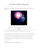 Tìm hiểu về bệnh động kinh docx