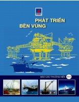 Báo cáo thường niên 2012 phát triển bền vững tổng công ty cổ phần dịch vụ kỹ thuật dầu khí việt nam PTSC