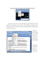 Biến giao diện của Office 2007 thành Office2003 docx
