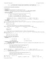 Lý Thuyết Và Bài Tập Chương Điện Li