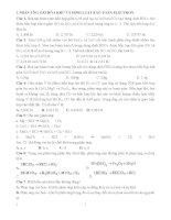 Bài tập phần oxi hóa khử pps