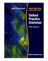 Oxford practice grammar with answers part 1 ppt