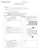 Giáo án Thể dục 12- HK 2 (09-10), chi tiết