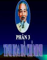 Đề thi môn tư tưởng Hồ Chí Minh - Đoàn viên thời đại Hồ Chí Minh ppsx